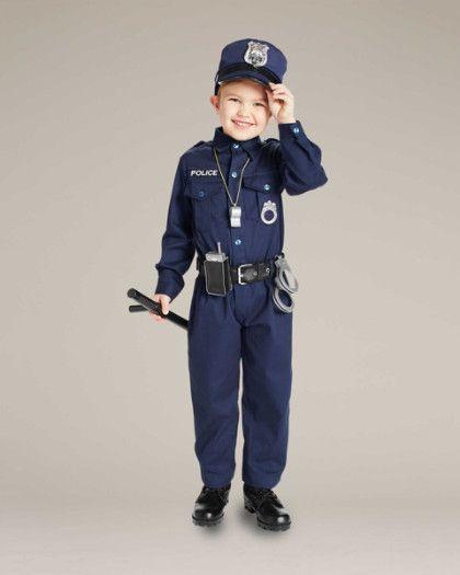Jr. Police Officer Costume for Kids
