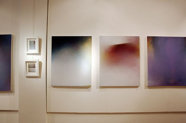 New paintings by Tina Mammoser at the AmericanBrits exhibition