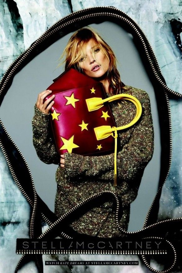 Kate Moss looks gorgeous in Stella McCartney's new ads. // #Fashion
