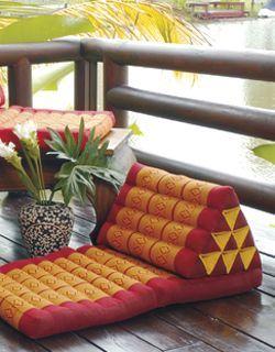 Thai triangle cushion                                                                                                                                                                                 More