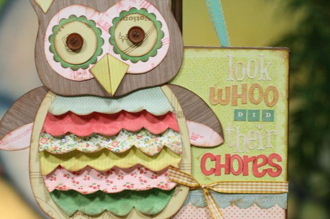Chore Chart Ideas from Studio 5: Summer Chore, Creative Summer, Chore Ideas, Owl Cards, Cute Owl, Great Ideas, Charts Ideas, Families Fun, Chore Charts