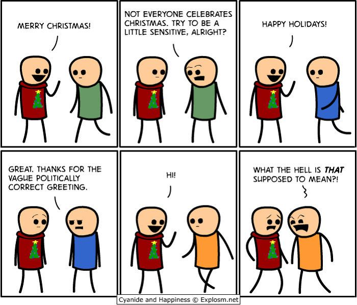 10+ Hilariously Inappropriate Christmas Comics By Cyanide & Happiness