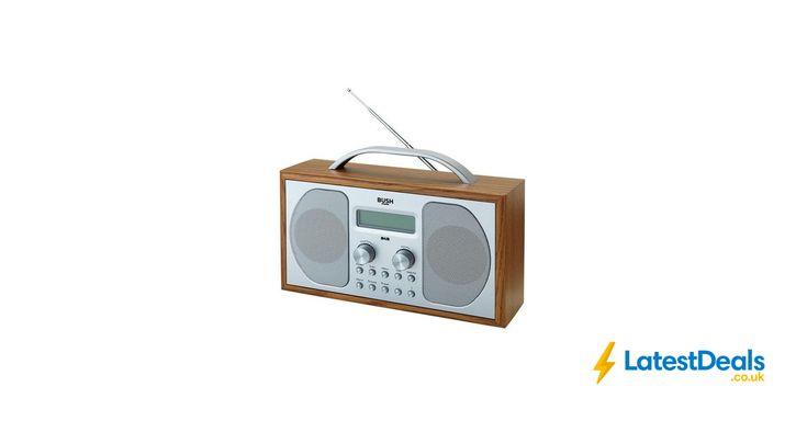 Lowest Price Bush Wooden DAB Radio Free C&C, £19.99 at Argos