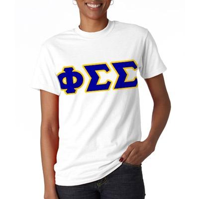 Phi Sigma Sigma Sorority Letter T-Shirt $15.99 #PhiSig #PhiSigmaSigma #Greek #Sorority #Clothing #Letter #T-Shirt: 15 99 Phisig, Phisig Phisigmasigma, Phisigmasigma Greek, Tshirt 1599