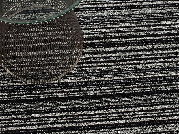 chilewich purl stripe mat runner vertical stripes x