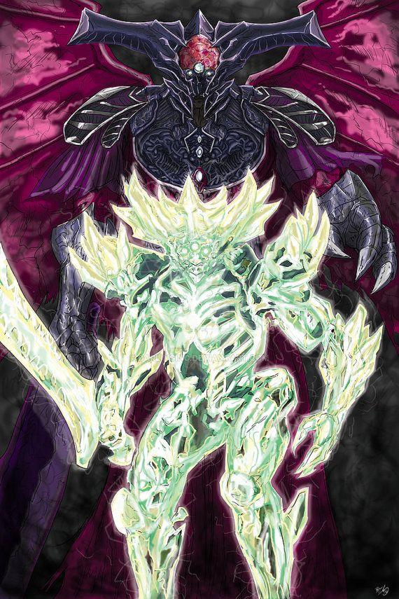 Destiny: Oryx and Crota by DarlingInc on Etsy