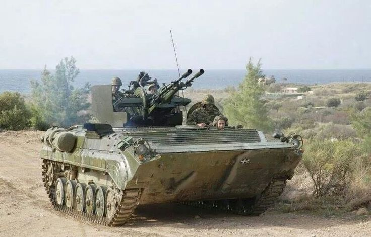 BMP-1P Hellenic Army