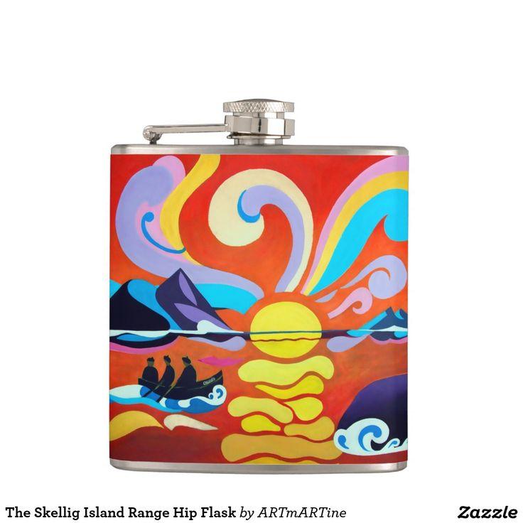 The Skellig Island Range Hip Flask