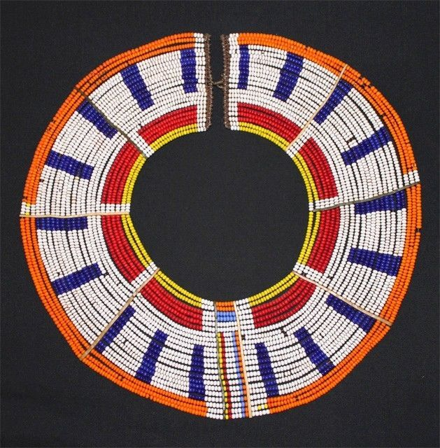 58 Best Ethnic Tribal Maasai Beaded Necklaces Images On