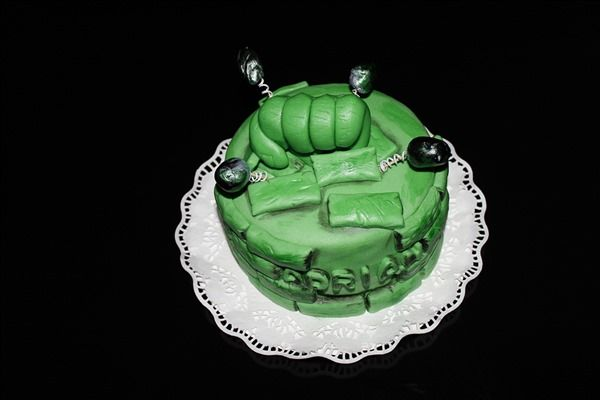 Tarta de Hulk