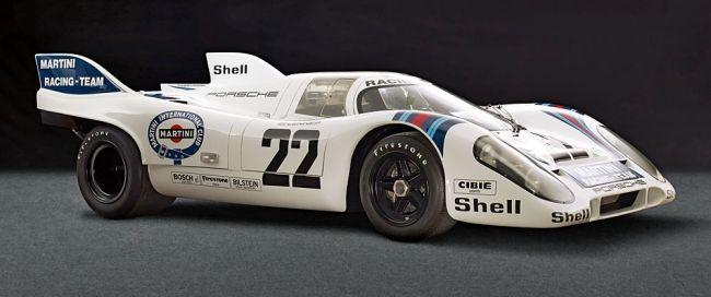 Caballo de guerra sensibles: El 1971 Le Mans coches ganadores Porsche 917 053 basado en un marco de magnesio, que se desintegra lentamente.  64 Porsche 917 surgió en general - 44 de largo y corto-cola coupé y 20 coches CanAm.