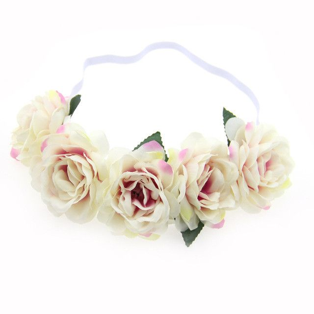 Fabric lotus flower headbands for woman girls hair accessories fabric lotus flower headbands for woman girls hair accessories bridal wedding flower crown headband forehead hair band flower headbands for women and mightylinksfo
