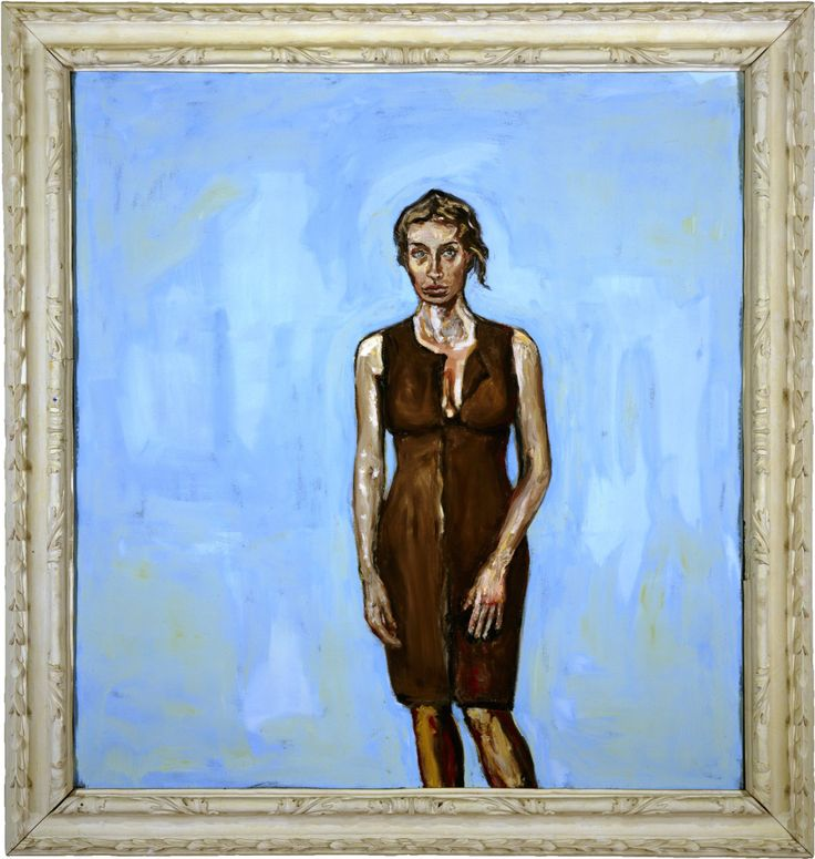 Julian Schnabel: Portrait of Olatz