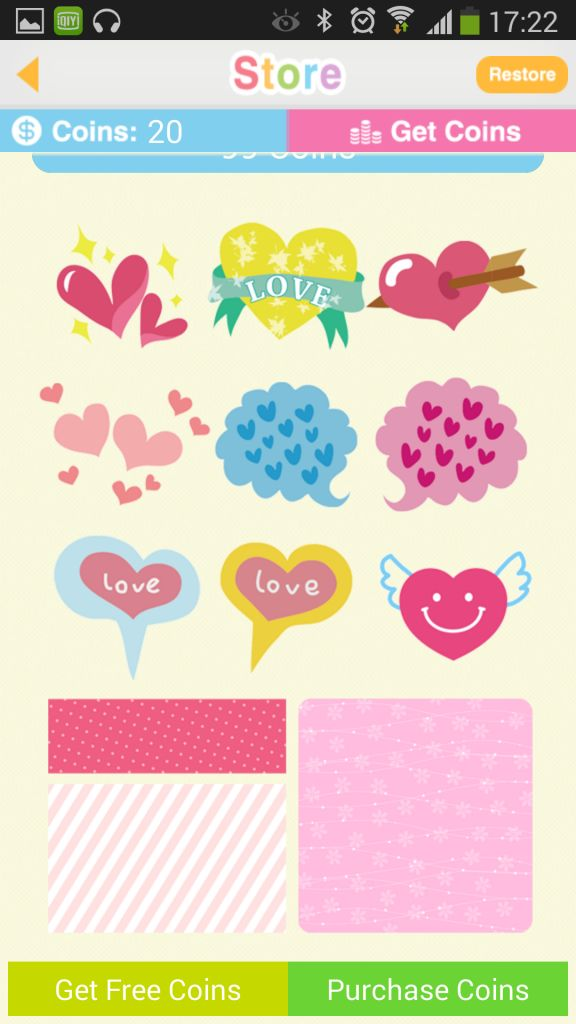 My Deco Memo Sticker & widget In-app shop