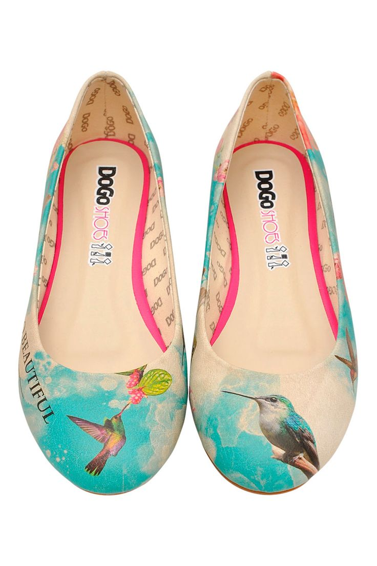 Chaussures Dogo I Love Summer Ballerines Classiques Femmes Multicolores lg4KPMA07v