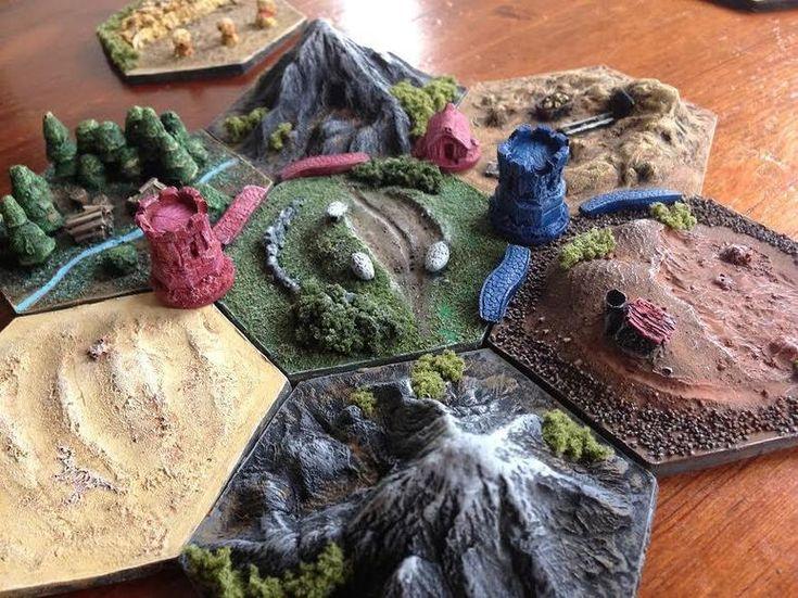Een driedimensionaal spelbord van Kolonisten van Catan is het beste cadeau ooit | Life | Upcoming