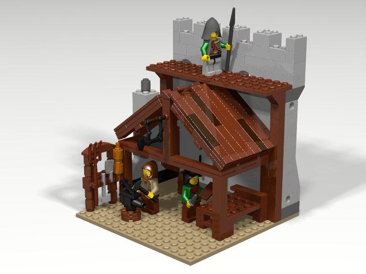 Fabbro medievale LEGO