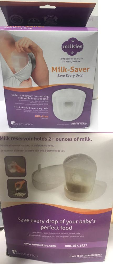 Accept. milkies milk saver breast milk collector storage