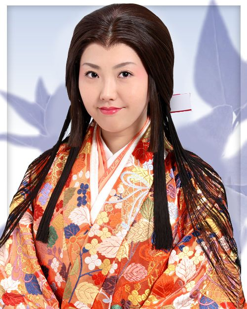 Japan Momoyama Period Suihatsu Style Of Daimyo Princess