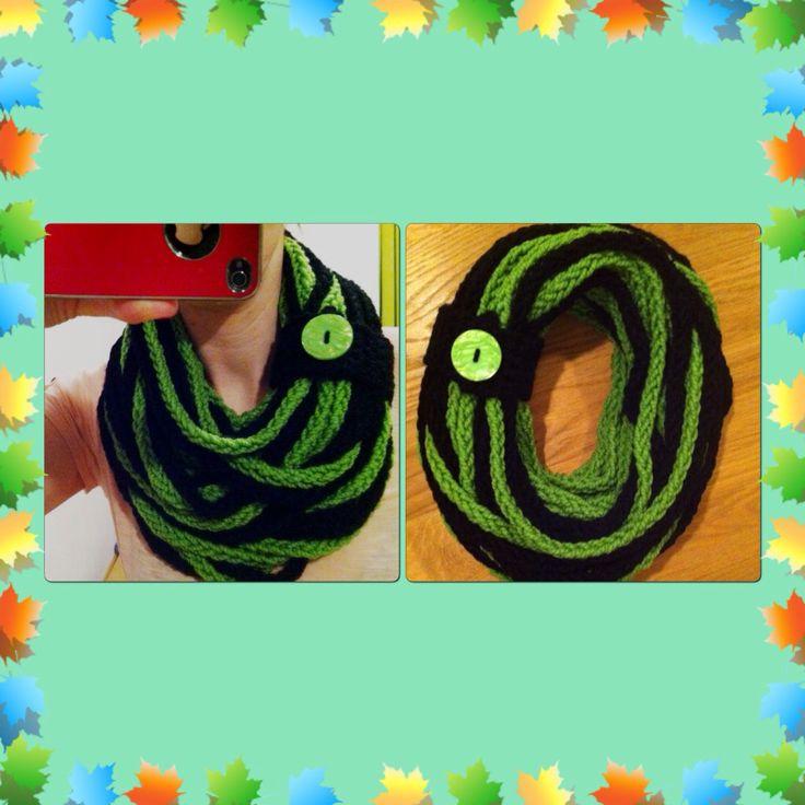 Nakrcnik zeleno-cerny