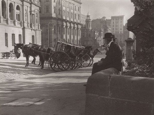 Image result for images of martin place sydney by cazneaux