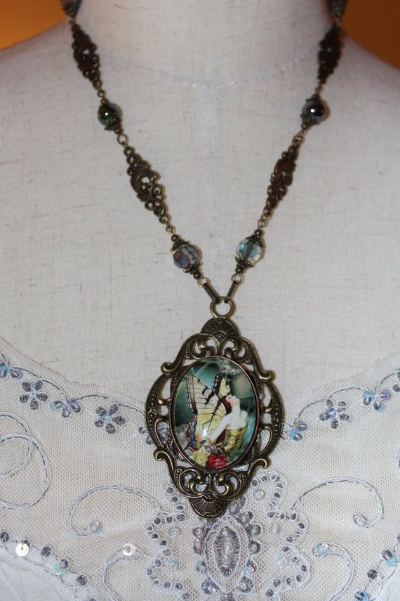 Butterfly Woman Necklace
