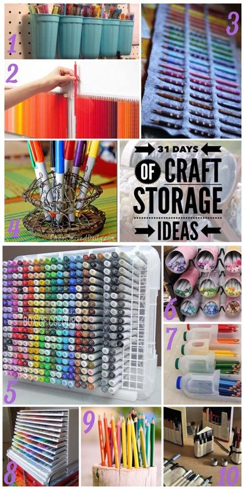 storage craft ideas pens and markers craft storage ideas craft storage 3011