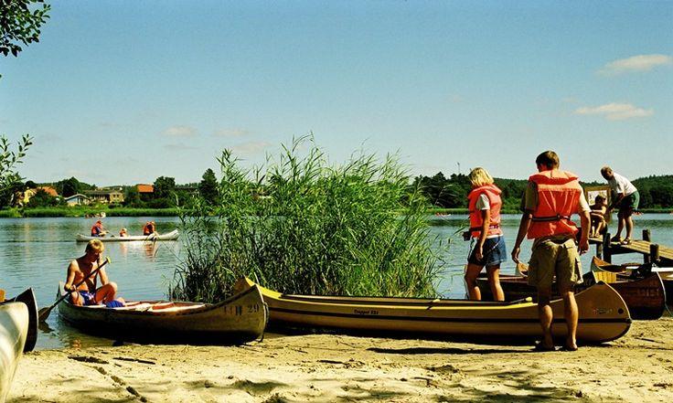 Kanotur på Gudenåen - Silkeborg Sø Camping