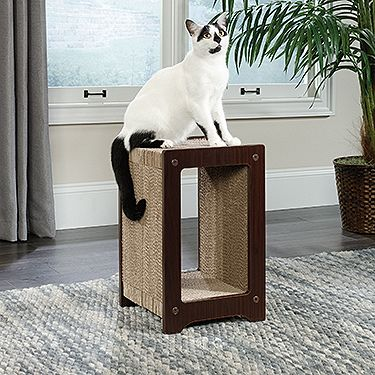 Cat Scratcher Mini - Sauder Saves space and your furniture! We think that's a win/win situation. Hours of fun for Mr. Kitty!