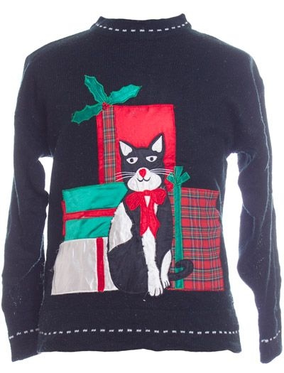 34 best ugly CAT sweaters images on Pinterest | Cat sweaters, Ugly ...