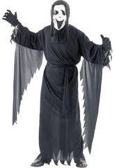 Disfraz mensajero fantasmal hombre