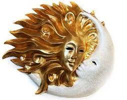 Картинки по запросу луна и солнце маска