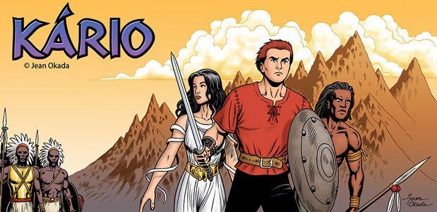 Jean Okada atua no mercado de ilustração e quadrinhos desde 1988, publicou nas revistas Turma do Barulho, Metal Pesado e Planet Sex Quadrinhos. Em 2004, seu personagem Kário ganhou uma edição pela Marca de Fantasia e algum tempo depois deu início a...