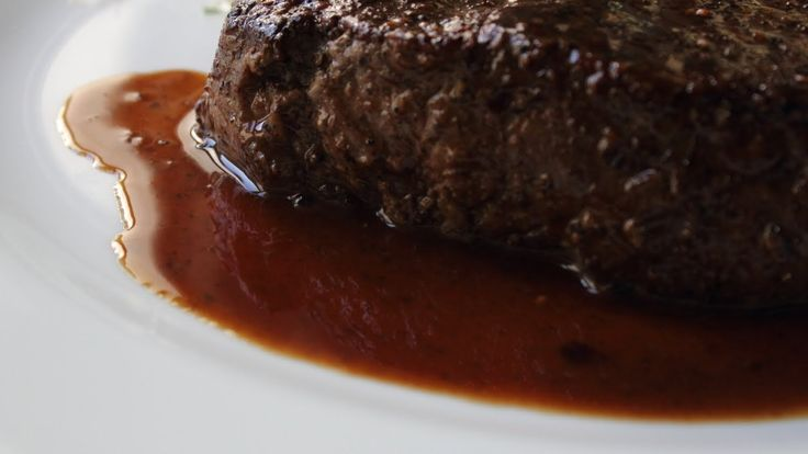 "Pan Sauce ""Bordelaise"" - Red Wine Reduction Steak Sauce  By Chef John"