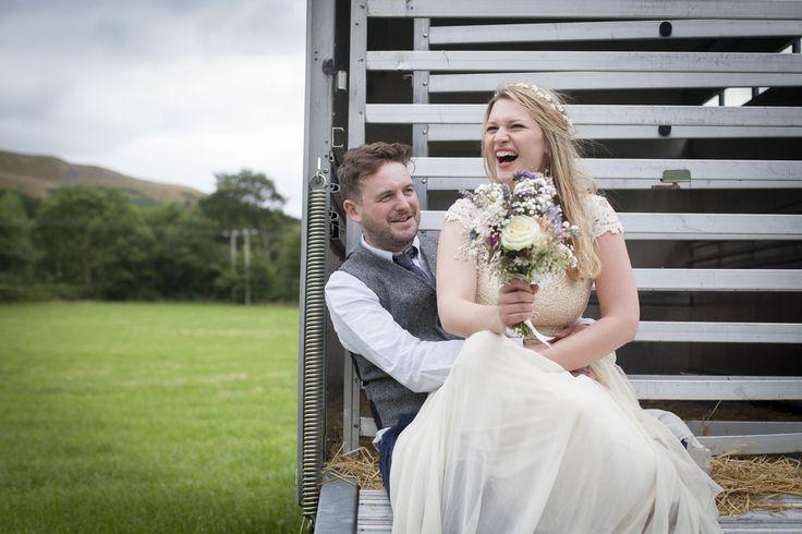 Festival Field Wedding - Vintage Wedding Inspiration