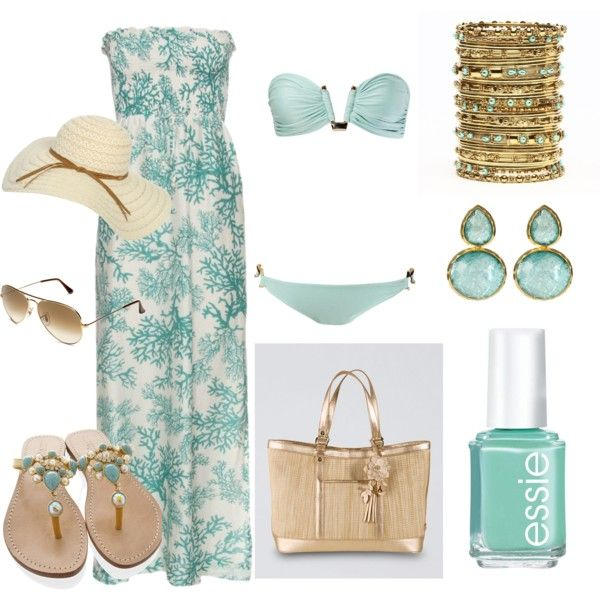 Beach Fun, created by thisgrlluvzshuz on Polyvore