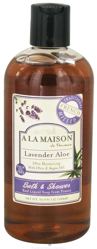 A La Maison De Provence, Lavender Aloe Bath And Shower Soap