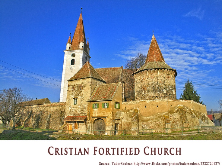Cristian Fortified Church  https://www.facebook.com/FromTransylvaniaWithLove