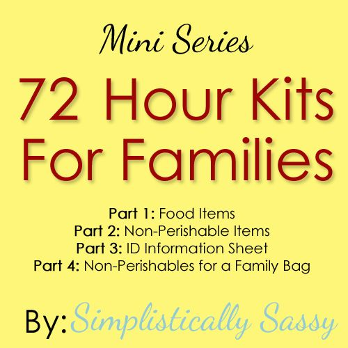 3 Month Food Supply Part 2 | Simplistically Sassy