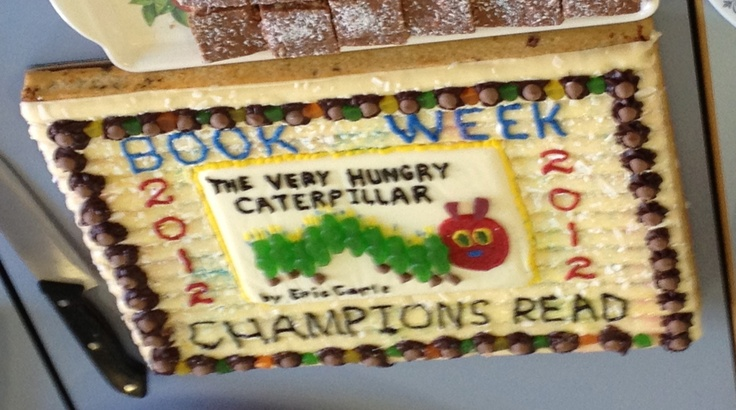 Jo's amazing book week cake