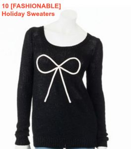10 [FASHIONABLE] HOLIDAY SWEATERS: OH, YES... IT'S POSSIBLE!! http://momgenerations.com/2013/11/10-fashionable-holiday-sweaters-under-75-yes-its-possible/ #FASHION