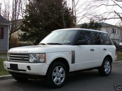 2004 white Ranger Rover.