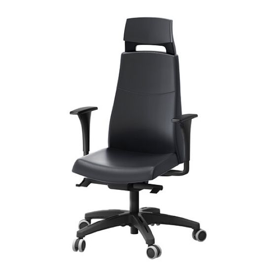 swivel chair with volmar ikea