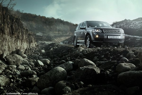 Land Rover Freelander by Ilya Davidovich, via Behance #kazinsp_photo