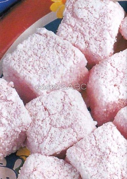 Rózsaszín zselécukor | Receptek | gasztroABC