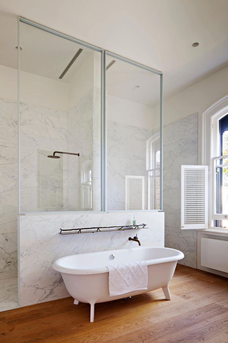 Bathroom | South Melbourne Home by Inglis Architects | est living