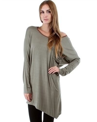 Olive Oversize Sweater Dress  from Burrelli Boutique, so cute with leggings and boots. easy fall outfit