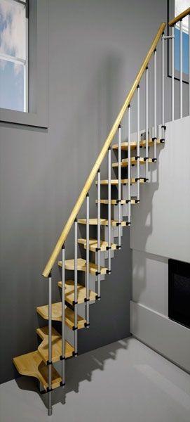 Las 25 mejores ideas sobre escaleras en espacios - Escaleras para espacios pequenos ...