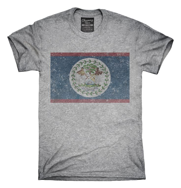 Retro Vintage Belize Flag T-Shirts, Hoodies, Tank Tops