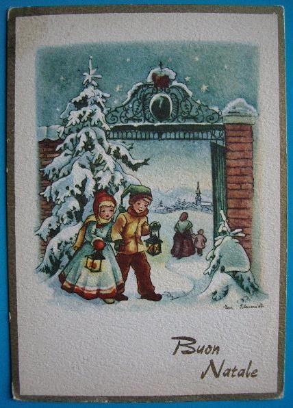 vecchie cartoline di buon natale - | BUON NATALE e BUON ...